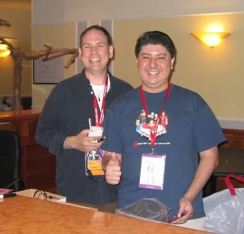 John Wilker und Tom Ortega